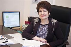 Поздравляем Надежду Петровну Московскую с присвоением почетного звания «Заслуженный экономист Российской Федерации»